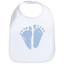Blue Feet Bib