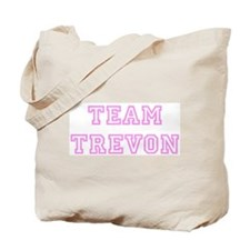 Pink team Trevon Tote Bag
