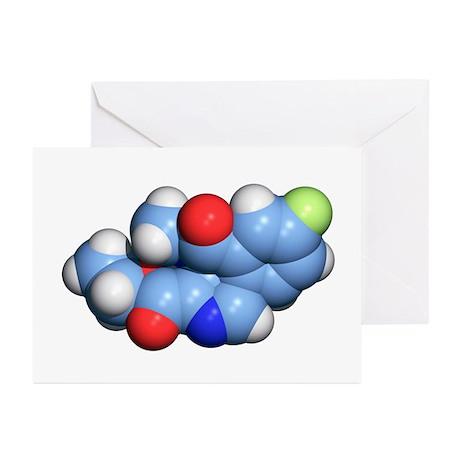 Flumazenil benzodiazepine antidote - Greeting Card by