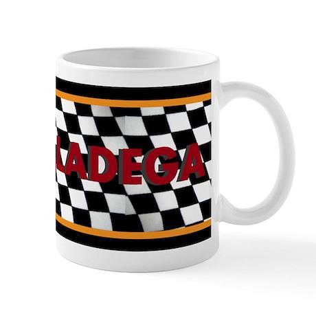 Taladega Checkered Mug