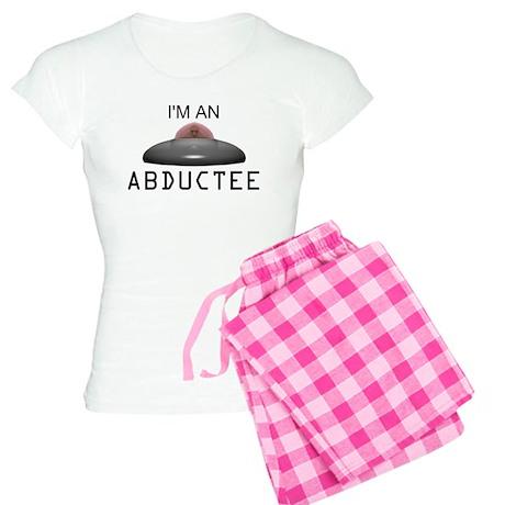 ABDUCTEE BLACK.png Women's Light Pajamas