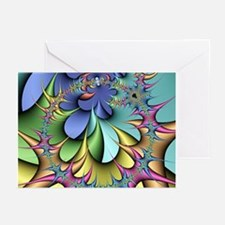 Julia fractal - Greeting Cards (Pk of 10)