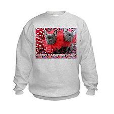 Valentine's Day card Sweatshirt
