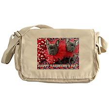 Valentine's Day card Messenger Bag