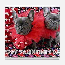 Valentine's Day card Tile Coaster