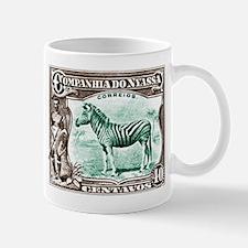 1921 Nyassa Company Zebra Postage Stamp Mug