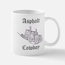 Asphalt Cowboy Truck Driver Mug