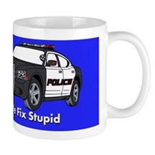 We Fix Stupid Small Mug