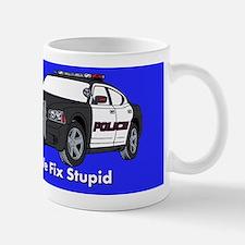 We Fix Stupid Small Small Mug