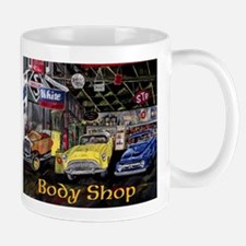 Body Shop Classic Car Mug
