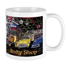Body Shop Classic Car Mug