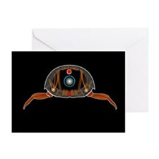 Arthropod anatomy, artwork - Greeting Cards (Pk of