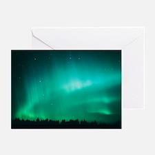 Aurora Borealis (Northern Lights) seen in Finland