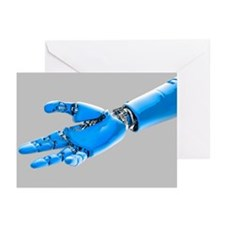 Cybernetic arm, artwork - Greeting Cards (Pk of 10