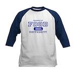 Food University Property Kids Baseball Jersey