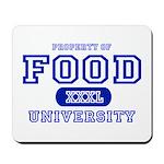 Food University Property Mousepad