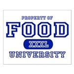 Food University Property Small Poster