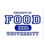 Food University Property Postcards (Package of 8)
