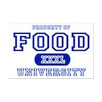 Food University Property Mini Poster Print