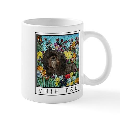 Shih Tzu Dog Breed Original Art Mugs
