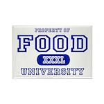 Food University Property Rectangle Magnet (10 pack
