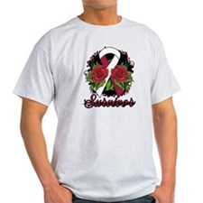 Throat Cancer Survivor Tattoo T-Shirt