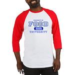 Food University Property Baseball Jersey