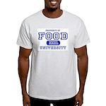 Food University Property Ash Grey T-Shirt