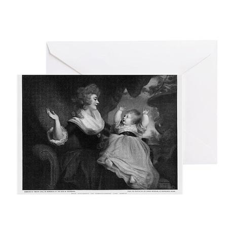Georgiana, Duchess of Devonshire - Greeting Cards