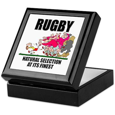Natural Selection Rugby Keepsake Box