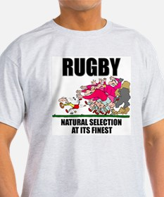 Natural Selection Rugby Ash Grey T-Shirt