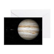 Jupiter, artwork - Greeting Cards (Pk of 10)