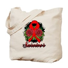 Stroke Survivor Tattoo Tote Bag