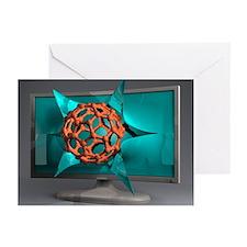 Nanotechnology research, conceptual image - Greeti