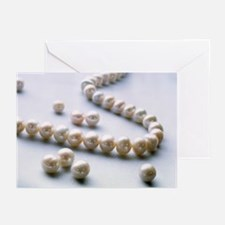 Pearl necklace - Greeting Cards (Pk of 10)