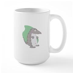 Goofy Armadillo Large Mug