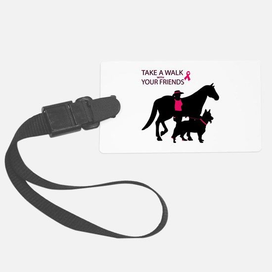 AwalkWithFriends Luggage Tag