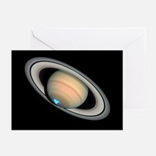 Aurora on Saturn - Greeting Cards (Pk of 10)