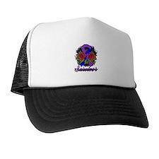 Rheumatoid Arthritis Survivor Tattoo Trucker Hat
