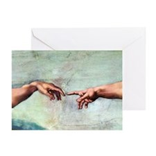 Creation of Adam - Greeting Cards (Pk of 10)