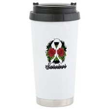 Retinoblastoma Survivor Tattoo Travel Mug
