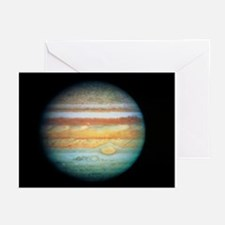 Image of Jupiter taken with the Hubble Telescope -
