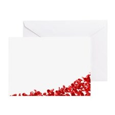 Red blood cells - Greeting Cards (Pk of 10)