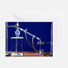 Distillation apparatus - Greeting Cards (Pk of 10)