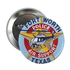 """Fort Worth PD Air Unit 2.25"""" Button (10 pack)"""