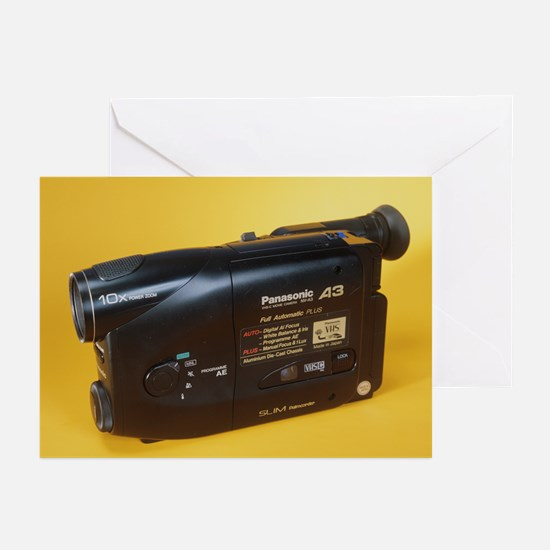 Camcorder - Greeting Cards (Pk of 10)