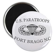 U.S.Paratroops Fort Bragg Magnet