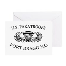 U.S.Paratroops Fort Bragg Greeting Card