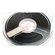 Audio tape reel - Postcards (Pk of 8)