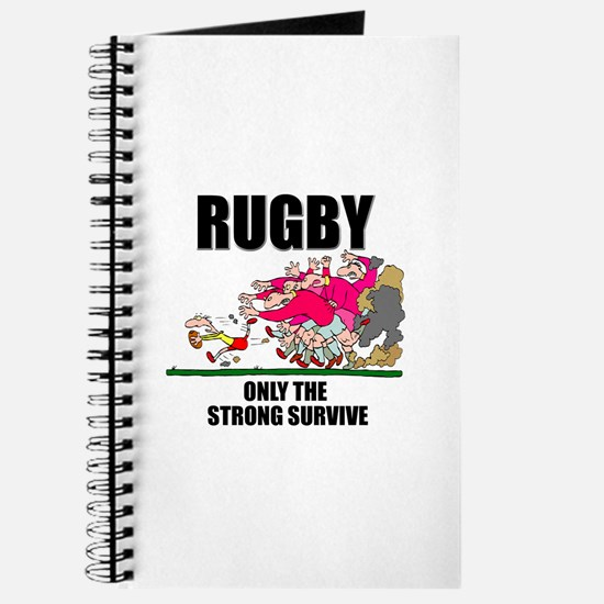 Only The Strong Rugby Journal